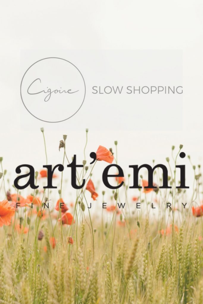 Ethical jewelry - slow shopping with art'emi.be at Cigoire events in Lille