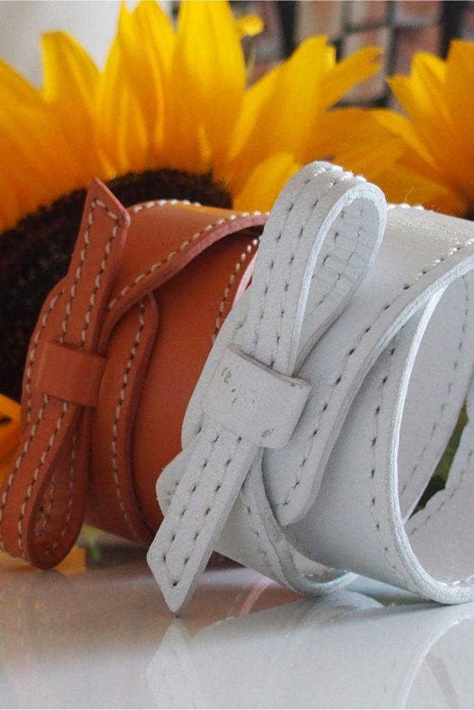 Leather bracelet artemi