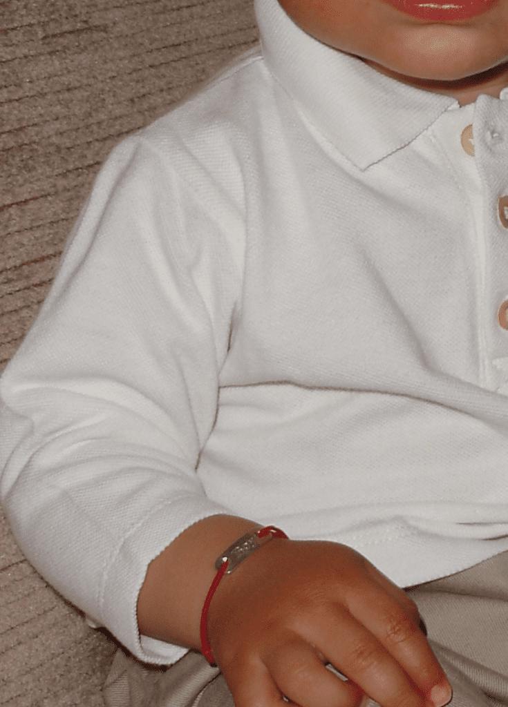 baby gift idea for children, baby bracelet