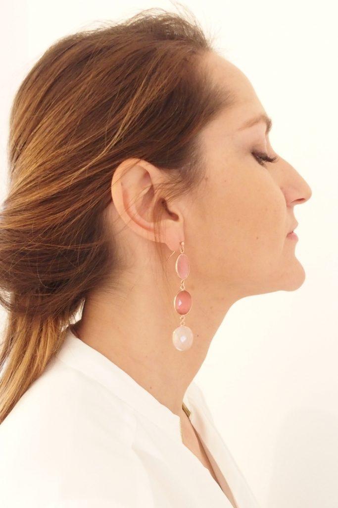 boucles d'oreilles femme, maman, artemi
