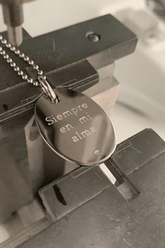 Gravure bijoux: gravure bijoux personnalisation graver bijouterie